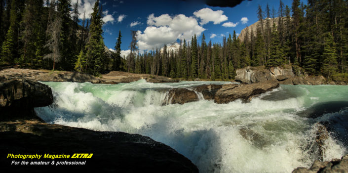 The Natural Bridge Canadian Rockies Photography Hot Spot
