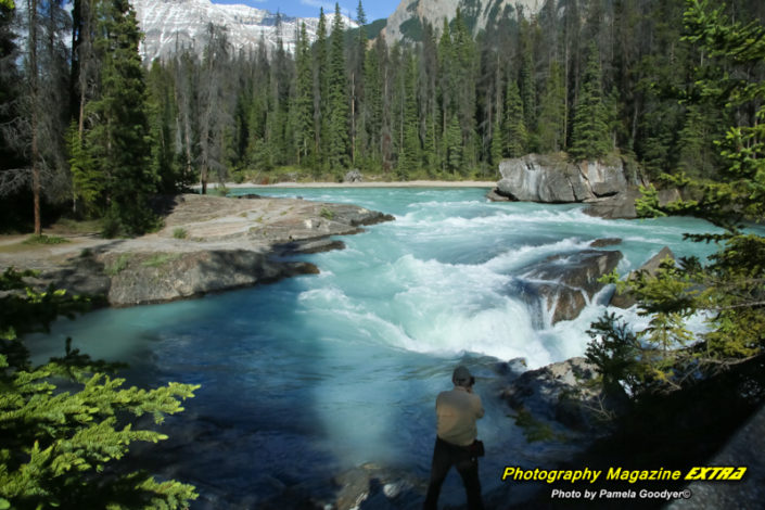 The Natural Bridge Canadian Rockies Photography Hot Spot