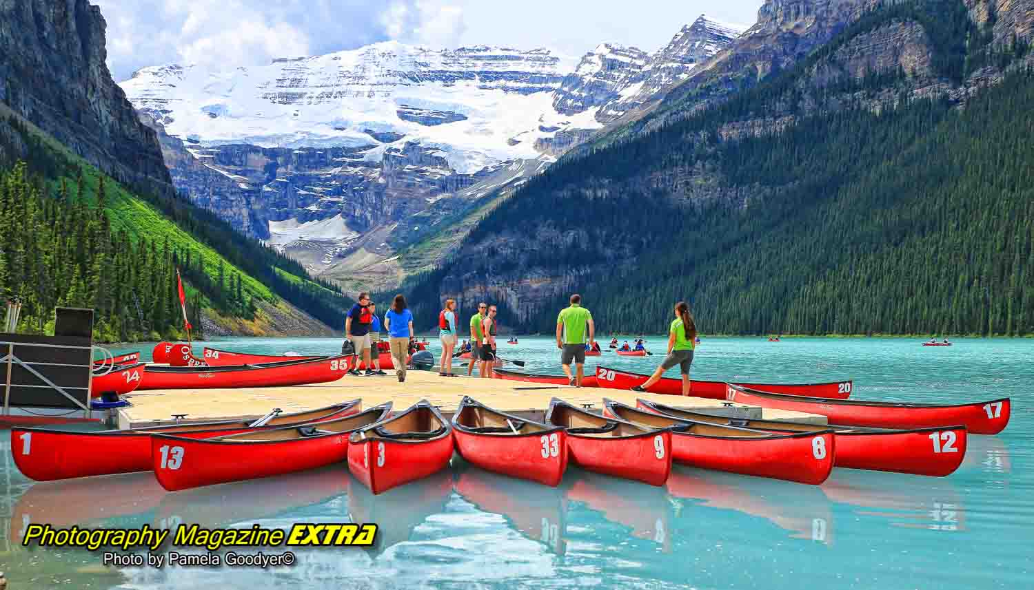 Lake Louise Canadian Rockies Hot Spot