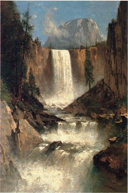 Vernal_Falls,_Yosemite,photo California