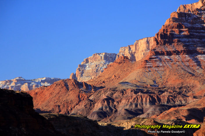 Lee's Ferry Arizona colorful up close of the vermillion cliffs