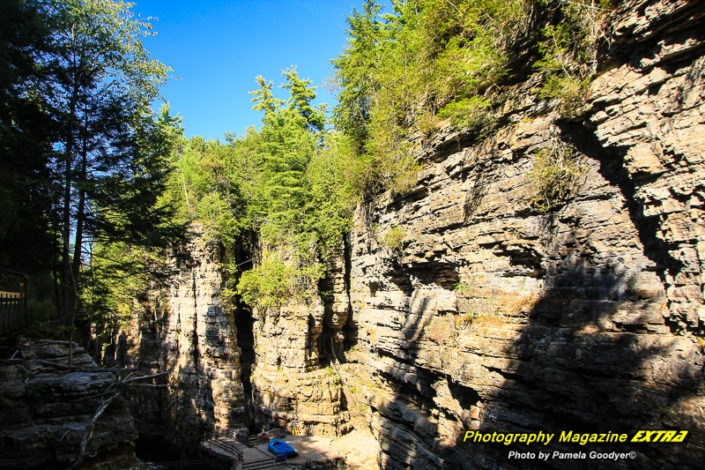 N.Y. Ausable Chasm Photography hot spot location
