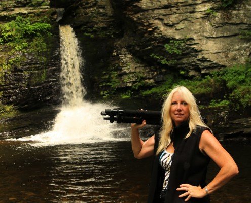 Photography Magazine Extra Waterfalls with a rare image of Pamela Goodyer world renowned photographer