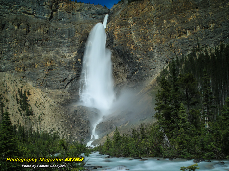 Canadian rockies falls