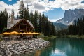 Cabin Restaurant, Emerald Lake, Canadian Rockies