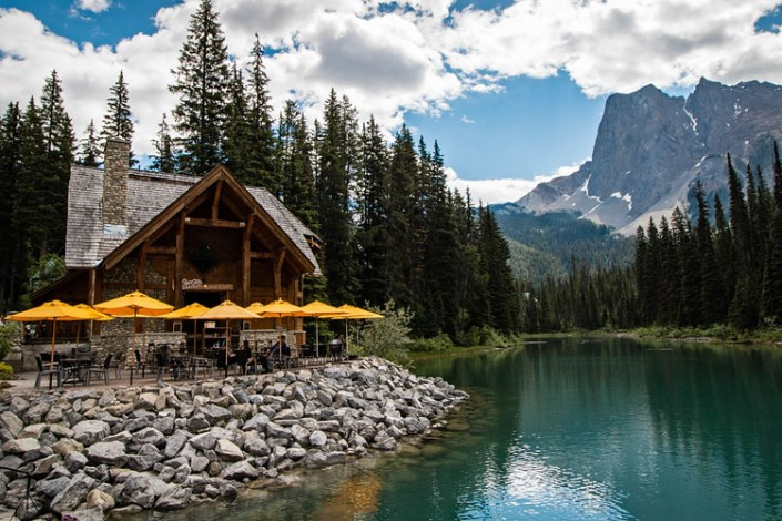 Cabin Restaurant, Emerald Lake, Canadian Rockies