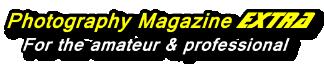Photography Magazine Extra