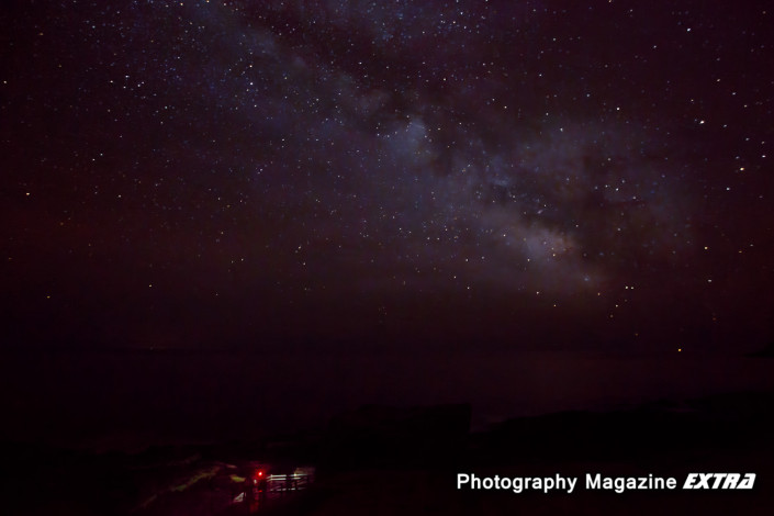 Acadia National Park, Thunderhole Milkyway Photography