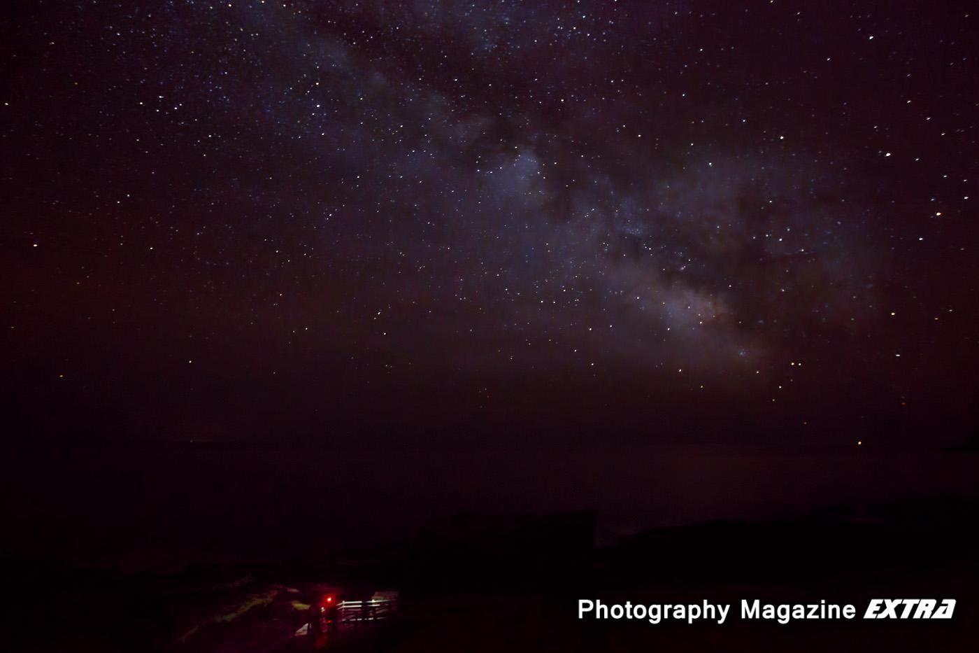 Acadia National Park, Thunderhole Milkyway Photography