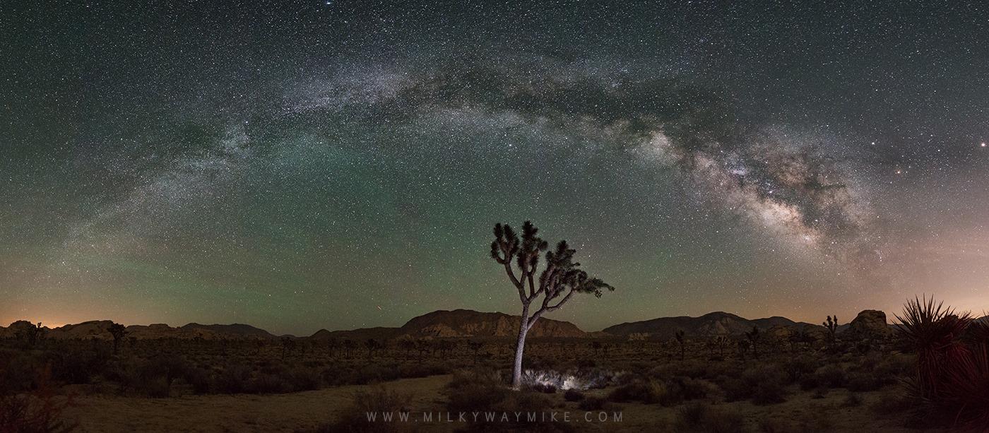 Joshua tree milkyway photography magazine extra