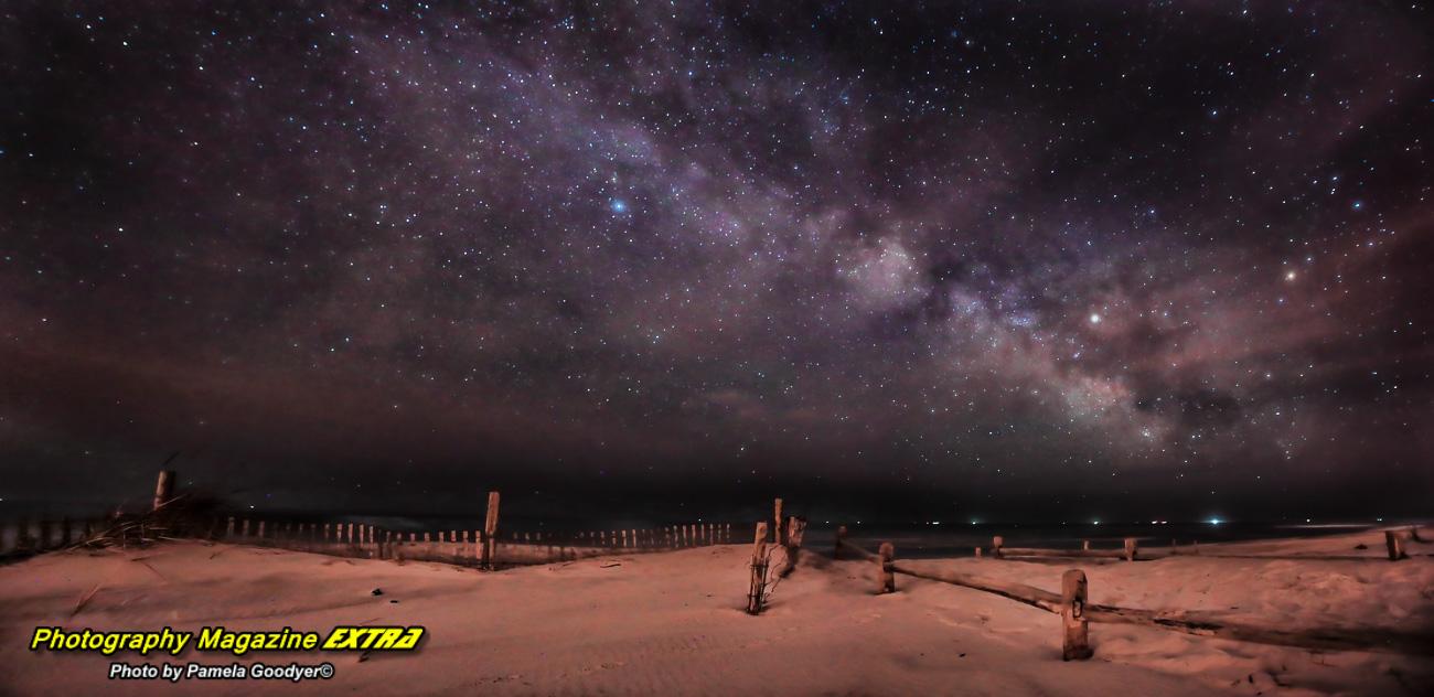 Island Beach State Park, N.J. photography hot spot location, dark sky, milky way photography