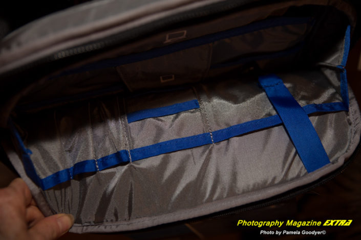 "Think Tank Camera Bag Fits a 15.4"" Laptop."