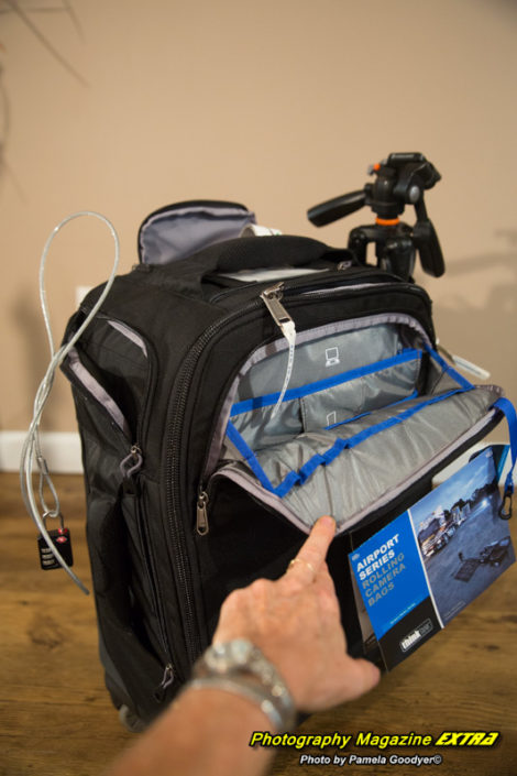 Think Tank Camera Bag - Deep Pockets and a lot of them!!