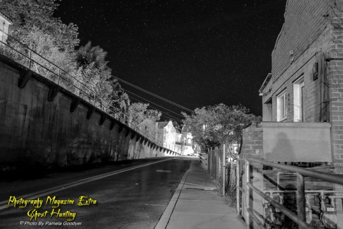 Ghost Hunting downtown Jerome Arizona