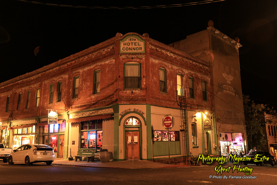 Jerome Arizona, Ghost Hunting Hotel Conner know to be haunted.