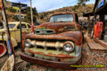 Very old antique rusted truck at Gold Kine Mine Ghost Town Arizona Jerome