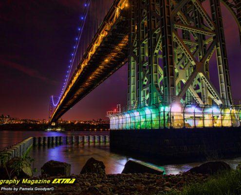 George Washington Bridge, New Jersey, GWB, Ross Dock Park, Hotspot, location, where to do photography
