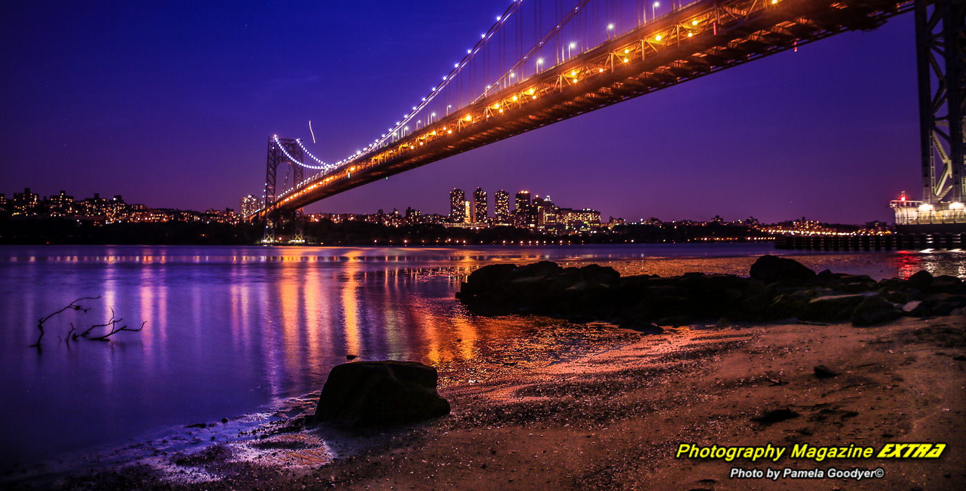 George Washington Bridge, New Jersey, GWB, Ross Dock Park, Hotspot, location, where to do photography, george washington bridge, ross dock park