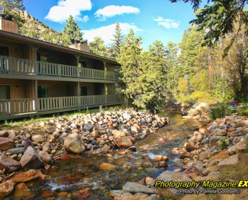 The Inn on Falls River, Rocky Mountain N.P.
