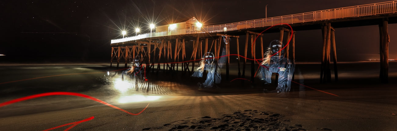 Belmar N.J. Fishing Pier Aliens