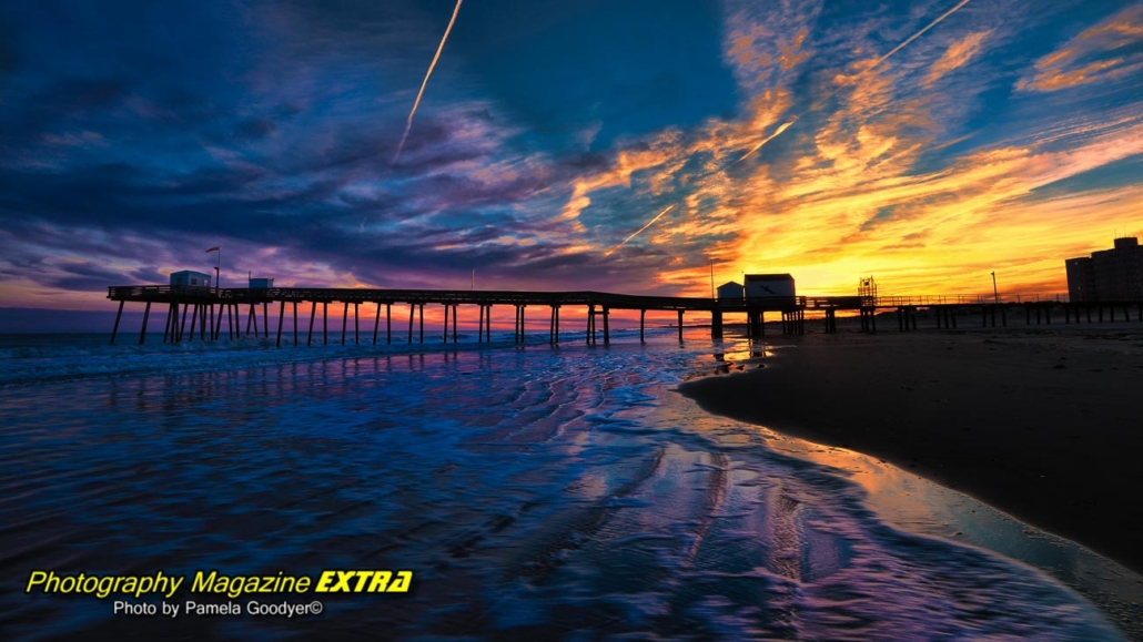 New Jersey Fishing Pier, photogrpahy location, Ocean City-Flanders Hotel, Ocean City, New Jersey, Ventnor City Fishing Pier