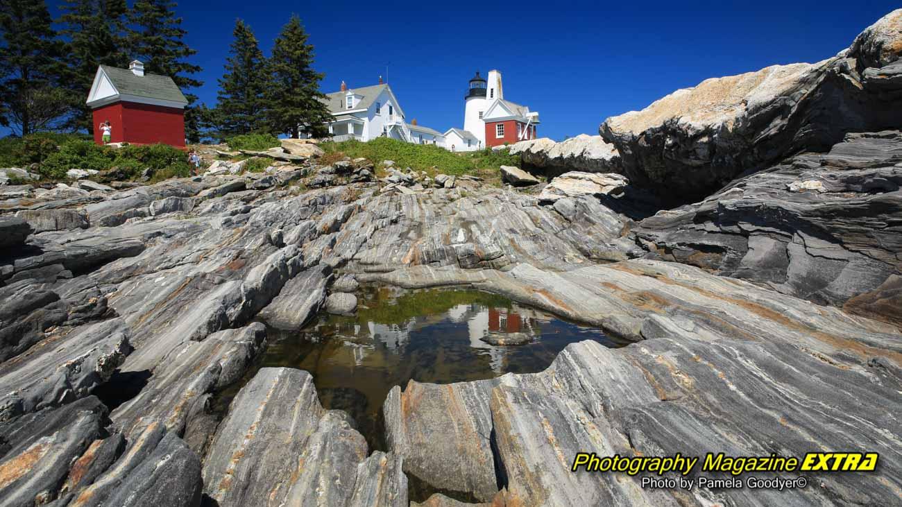 Pemaquid Point Lighthouse Maine, USA