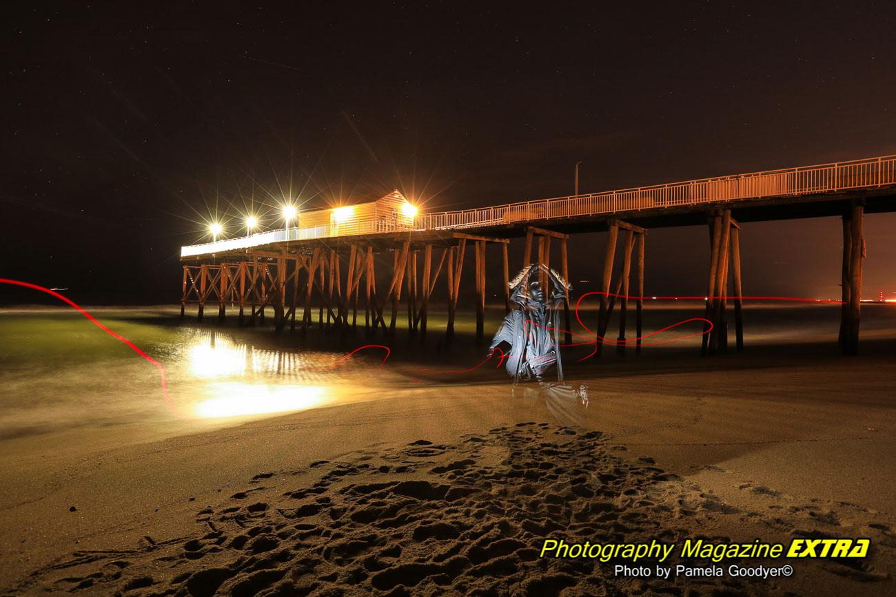 Alien on Belmar fishing pier