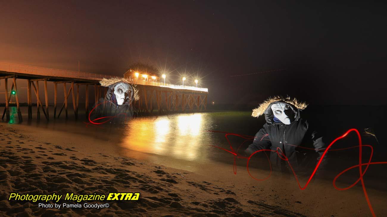 Aliens on the Jersey Shore Beach